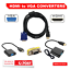 NEW-HDMI-Male-to-VGA-Female-Male-1080p-Adapter-Cable-Converter-Chipset-au thumbnail 1