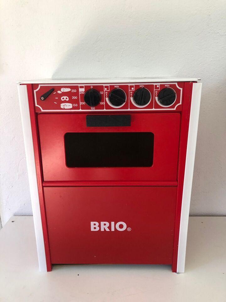 Brio komfur rødt