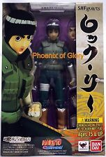 New Bandai Tamashii Web Exclusive S.H Figuarts Rock Lee USA