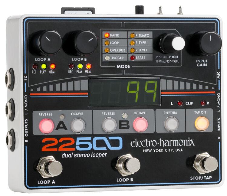 EHX Electro Harmonix 22500 Dual Stereo Looper, Brand NEW