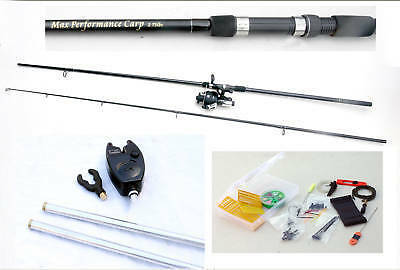 Master Carp 12ft 2.75lb Rod & Vigor 60 Reel & Alarm