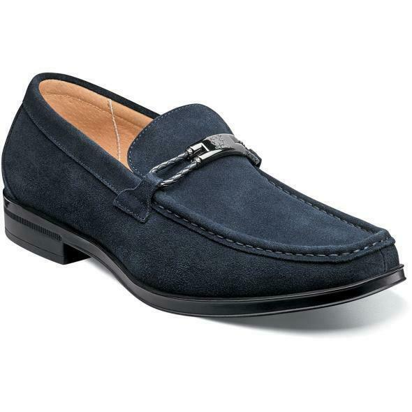 Stacy Adams Herren Schuhe Neville Bit ohne Bügel Marine Wildleder 25224-415     Produktqualität