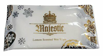 100 x Quality LARGE Lemon Wet Wipes Hot//Cold Individual Wrapped Napkins OFFER