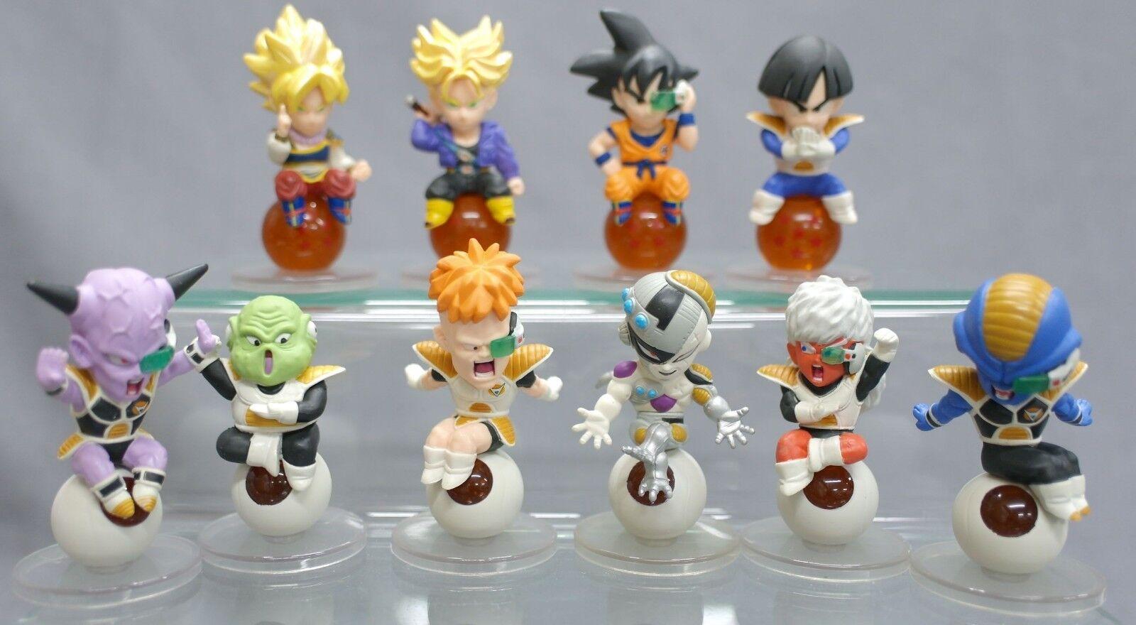 Dragon Ball Z Chara Petit Figure Return of Goku Part 11 Set of 10 Bandai B99