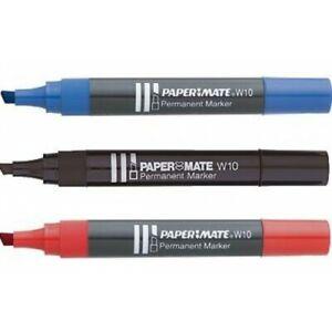 set-di-5-pz-Marcatore-permanente-M15-rosso-x-chiusura-attivita-039-pennarello