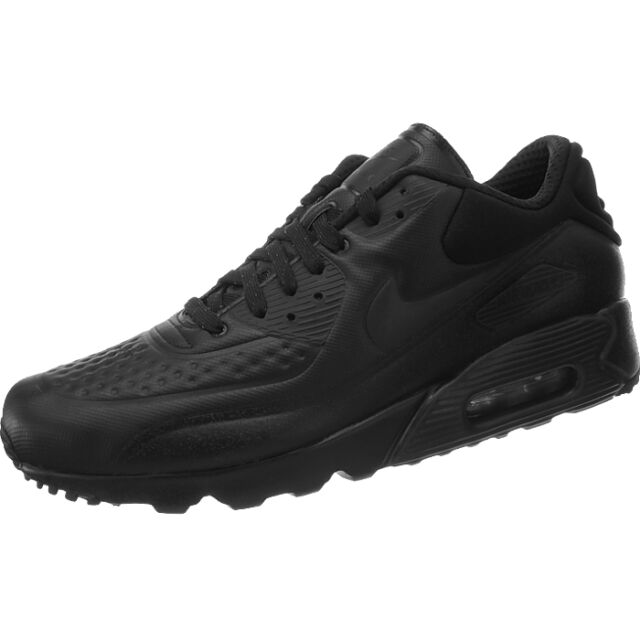 Nike AIR MAX 90 ULTRA SE PREMIUM black Men's Shoes Special Edition rare Sneakers