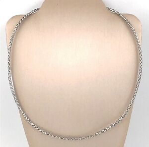 10k-White-Gold-Woven-Cable-Decorative-Necklace-18-5-034-Italy