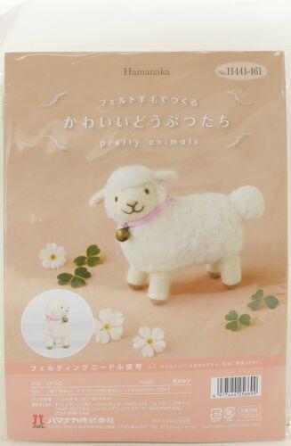 Decepciones H441-461 Kit de Artesanía Lana de Fieltro Mascota bastante animales ovejas