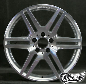 1x-Mercedes-Benz-AMG-W207-18-Zoll-Einzelfelge-A2074011402-E-Klasse-Coupe-Cabrio