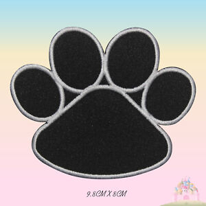 Dog-Paw-Embroidered-Iron-On-Patch-Paw-Sew-On-Badge-Applique