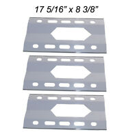 Costco Kirkland Gas Grill Replacement Stainless Steel Heat Shield Spx281-3pk