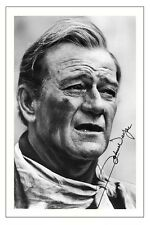 JOHN WAYNE AUTOGRAPH SIGNED PHOTO PRINT POSTER THE ALAMO