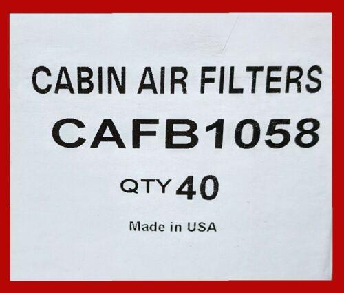 USA MADE PREMIUM BULK CABIN AIR FILTER ACURA /& HONDA MODELS 40PC
