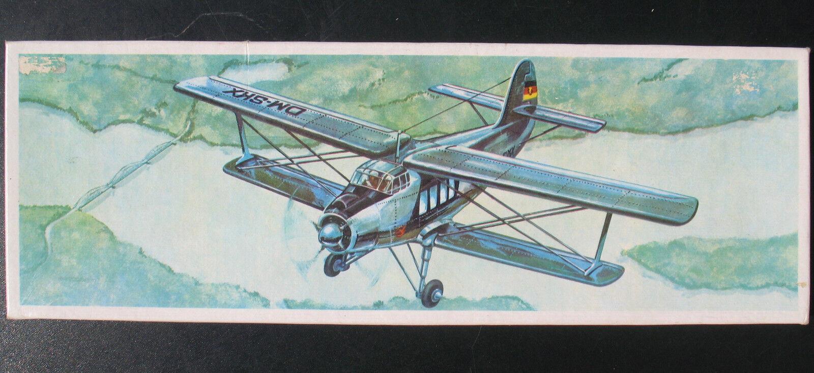 PLASTICART - AN-2 - 1 75 - DDR Propeller Flugzeug Modellbausatz - Model Kit  | Spielen Sie auf der ganzen Welt und verhindern Sie, dass Ihre Kinder einsam sind
