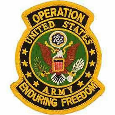 ENDURING FREEDOM AFGHANISTAN OEF CAMEL MILITARY  PATCH