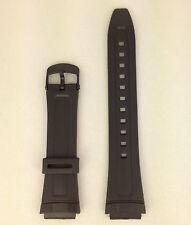 Casio Illuminator AW-80-1AV Genuine Replacement Strap AW-82 Black Rubber Band