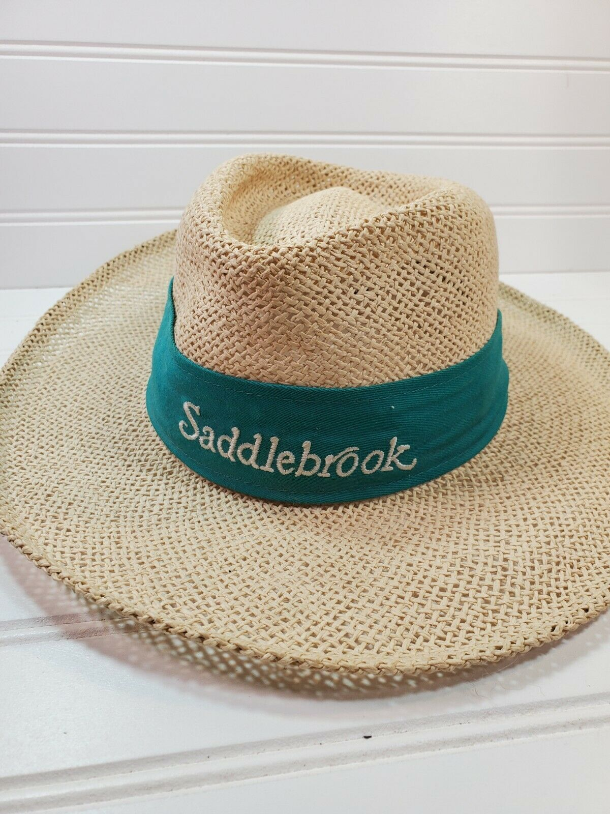 Saddlebrook Golf Club straw hat Cap golf, tennis … - image 1