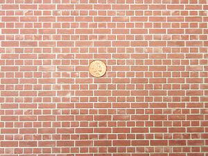 Bedford-Brick-Wallpaper-DIY-A3-29-7cm-x-43cm-Tumdee-Dolls-House-Miniature-WP547