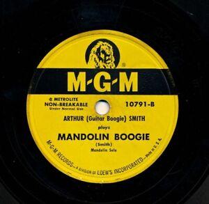 ARTHUR-Guitar-Boogie-SMITH-on-1950-MGM-10791-Mandolin-Boogie