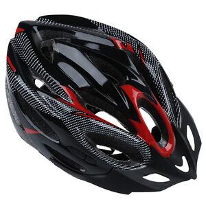 Jsz-Sports-Velo-Cyclisme-Securite-Casque-avec-visiere-Adulte-Rouge-Ed