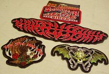 Hot Leathers Biker Motorcycle Patches Lot #12
