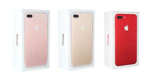 Fully Unlocked Apple iPhone 7 Plus A1661 (CDMA+GSM) [New Unused]