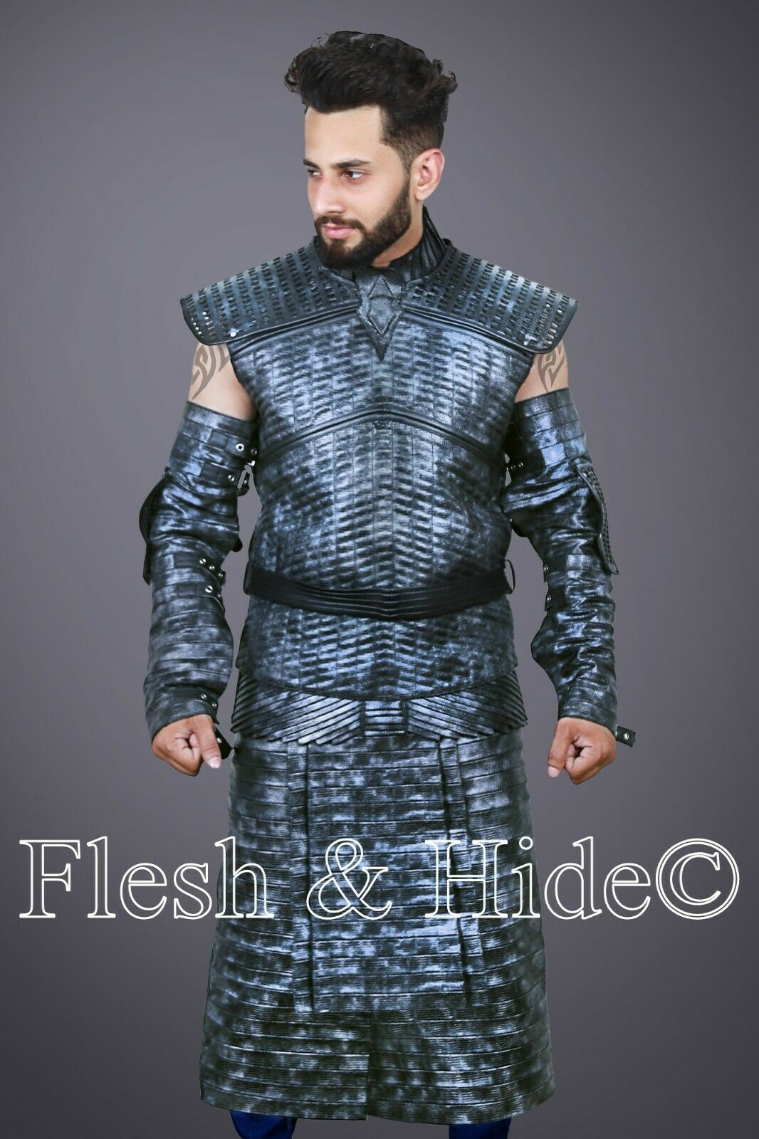 Game of Thrones The Night's King White Walker Costume