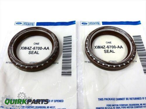 Ford 4.6L 5.4L Engine Front Crankshaft Timing Cover Oil Seal Set OEM XW4Z6700AA