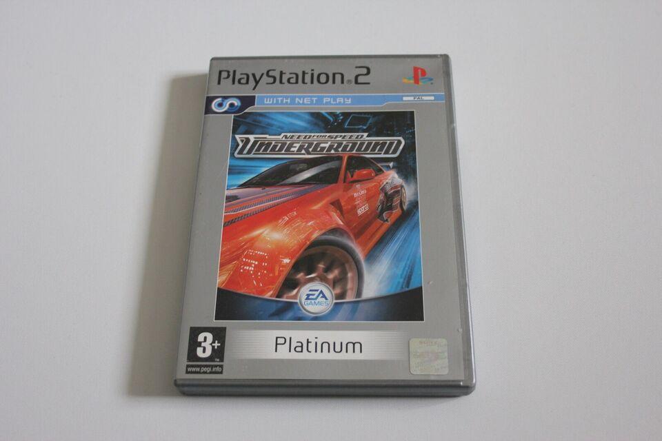 Underground, PS2, racing