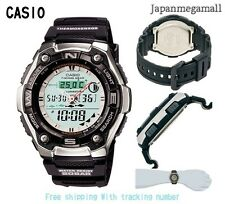 CASIO Japan Watch SPORTS GEAR Sports Gear Moon Data AQW-101J-1AJF Men's offcial