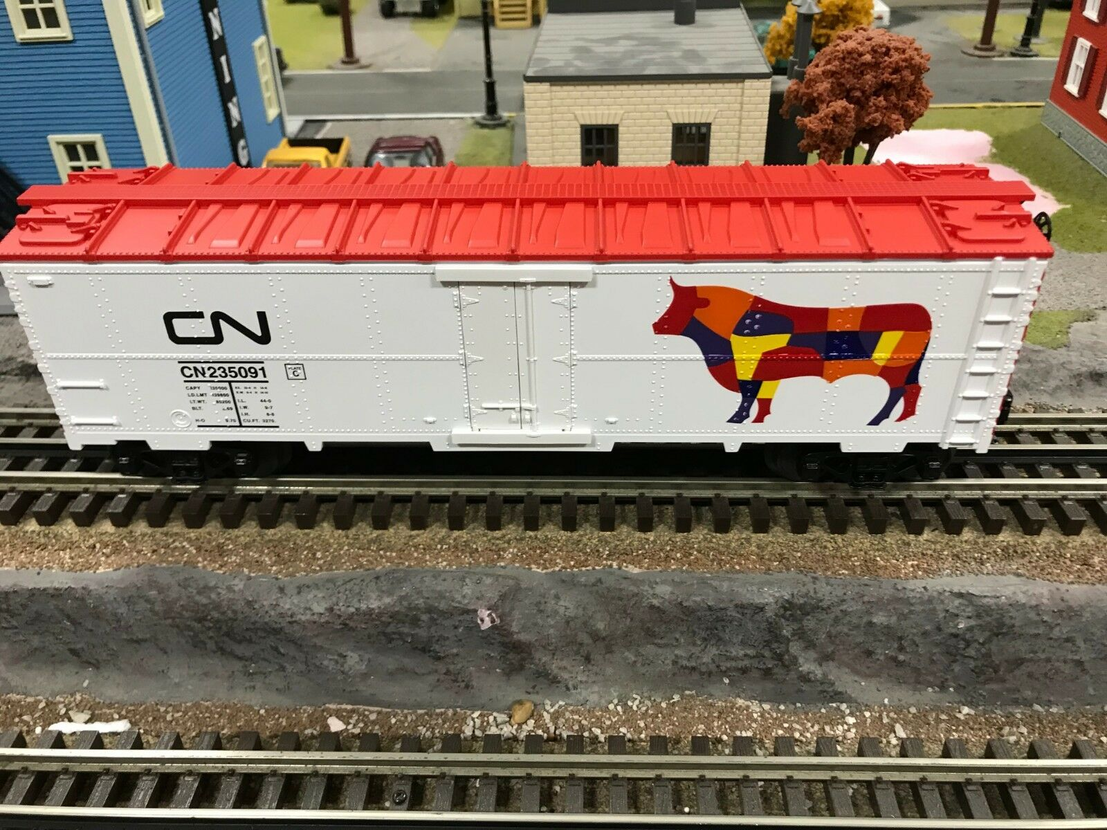 MTH MTH MTH Railking CANADIAN NATIONAL BOXCAR - NIB  b387e6