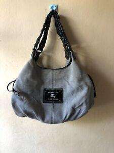 Burberry Blue Label Grey Hobo Bag