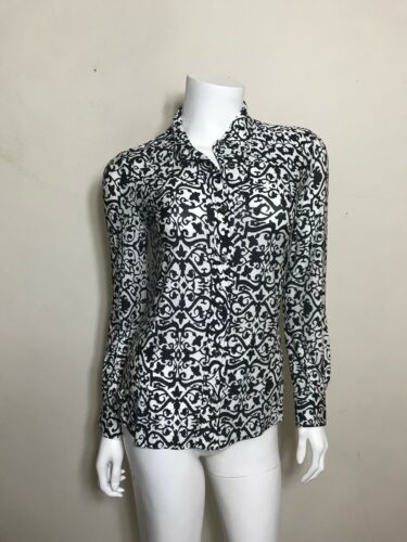 Isabel Marant Collared Button Up in Vine Print in