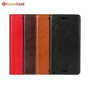 Luxe-en-Cuir-Veritable-Portefeuille-a-Rabat-Case-Cover-pour-Sony-Xperia-X-Performance
