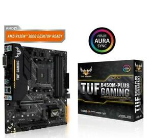 ASUS-TUF-B450M-PLUS-GAMING-Motherboard-AMD-Socket-AM4-AMD-B450-Chipset