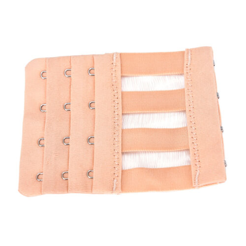 3 Rows 4 Hooks Women Adjustable Bra Extender Strap Extension Buckle Popular、2018