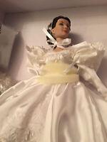 Tonner Wedding 16 Scarlett Ohara Vivien Leigh Doll Civil War Bride Gwtw