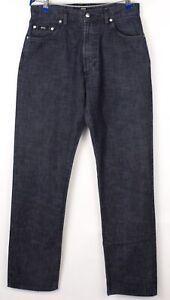 HUGO BOSS Hommes Montana Jeans Jambe Droite Taille W33 L32 BCZ700