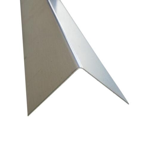 2000mm Winkelprofil Metallwinkel aus Aluminium Riffelblech Aluwinkel Aluprofil