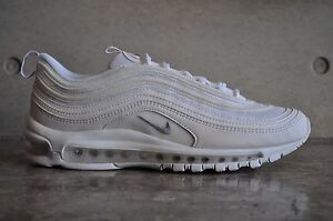 sale retailer ce12e f76ce Image is loading Nike-Air-Max-97-034-Triple-White-034-