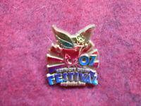 2007 Kentucky Derby Festival Gold Return Pin