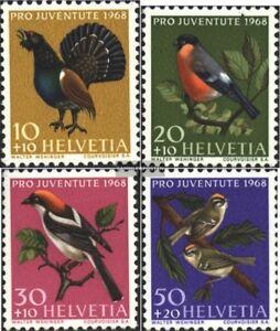 Schweiz-891-894-kompl-Ausgabe-gestempelt-1968-Pro-Juventute