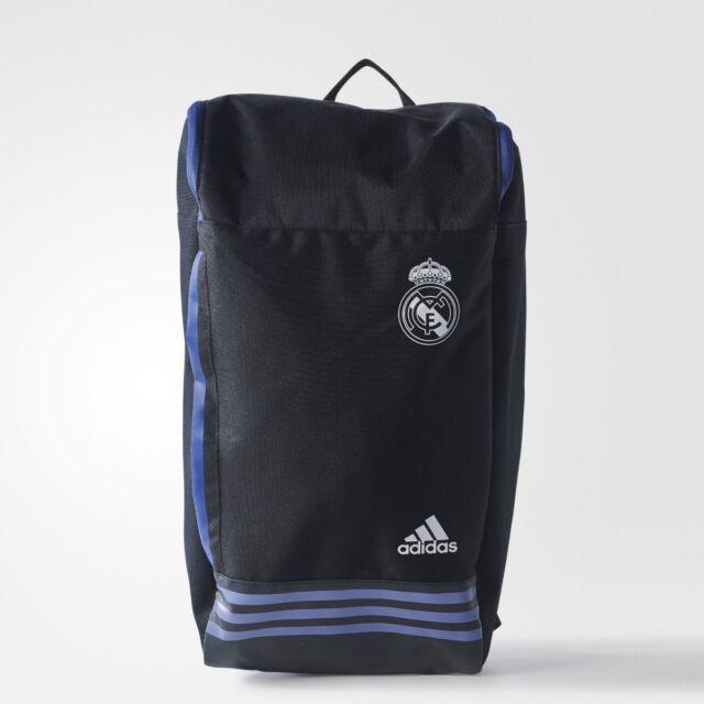 adidas ORIGINAL REAL MADRID BACKPACK MESSENGER SHOULDER BAG COLLEGE  UNIVERSITY c984fa3486