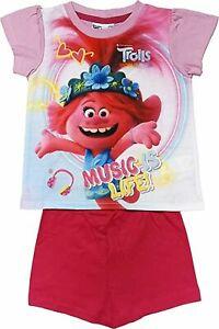Dreamwork Trolls Short Pyjamas. Age 3-4 Years. Brand New