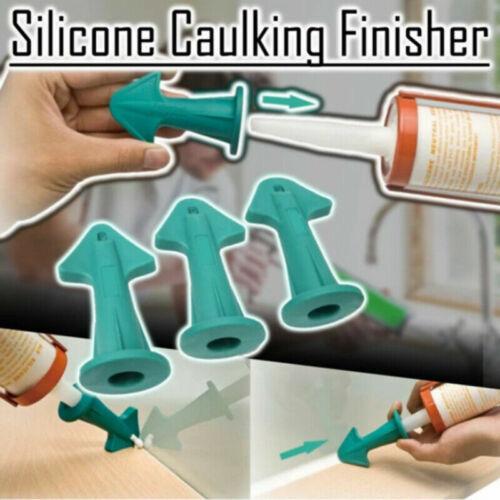 3 en 1 Silicone Calfeutrage Finisher outil buse spatules Filler épandeur outil S