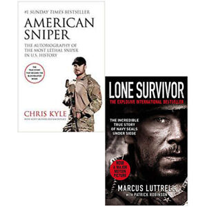 Details about American Sniper & Lone Survivor (Biograpy & Military History)  Collection 2 Books