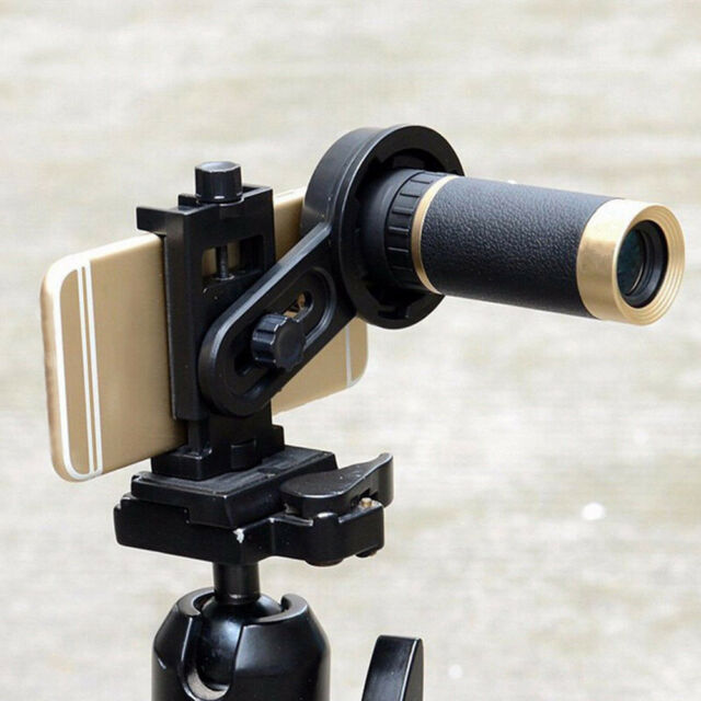Cell Phone Universal Telescope Adapter Holder Mount Bracket Spotting Scope DL5