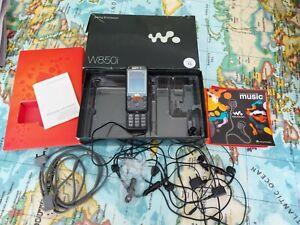 Sony Ericsson Walkman w850i-schwarz o2 Handy
