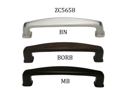Pull Handle Kitchen//Bathroom Cupboard Cabinet Hardware Brushed ZC5658 96 c//c