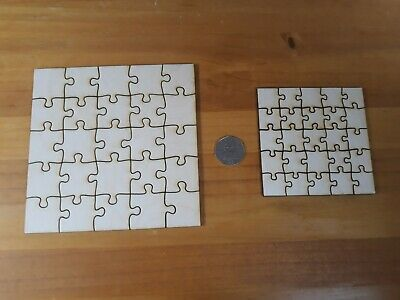 Shapes Puzzle Pieces Plywood Jigsaw